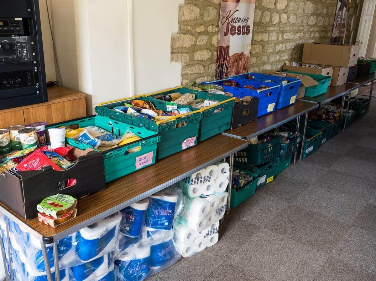 Thrapston FoodBank Donations